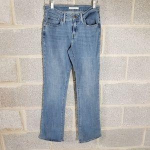 Levi's Curvy Boot Cut Women's Jeans Pant Size 30